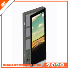 Double side door open 65 inch touch tv Screens Digital Signage