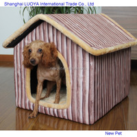Various styles best selling batten strip separate room new develop products for dog pet house
