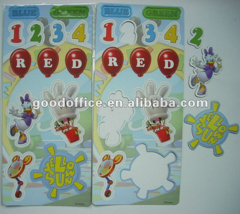 children intelligence toy magnetic puzzle