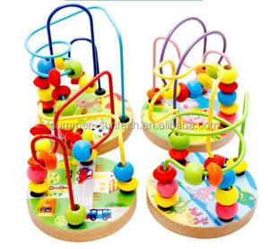 Other Educational Toys Type wooden bead maze toy
