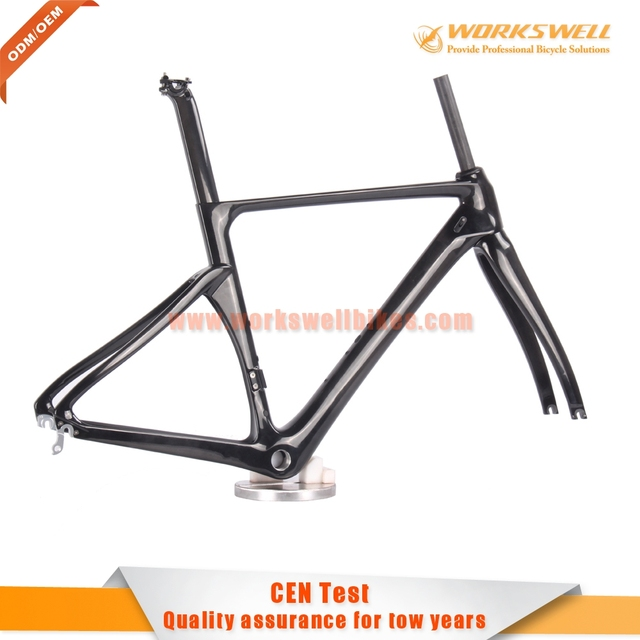 Best High quality China OEM customed paint carbon UD road frame bike