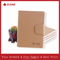 2016 new design high quality fancy leather cover notebook with pen set OEM colour