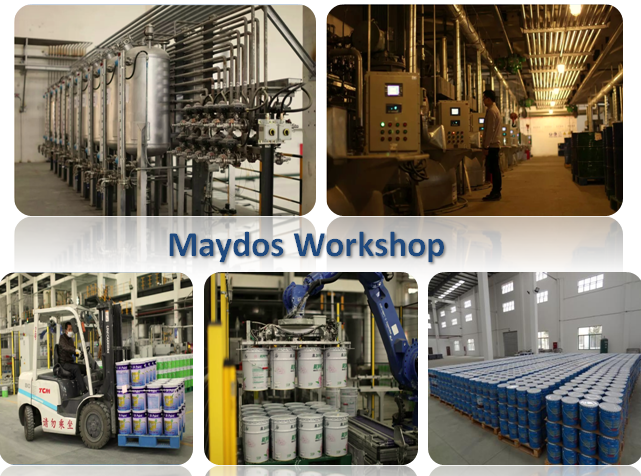 Maydos 100% solid Anti-Scratching UV Lacquer Flooring Varnish Lacquer(Maydos UV coating/China paint factory)