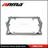 stainless decorative plate frame