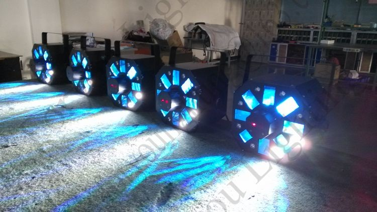 NEW Designer American DJ Stinger Swarm 5 FX Disco Stage 8x1W LED+5x3W RGBWA LED+150MW Red & 50MW Green Laser LED Light