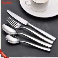 Luxury wedding Silverware,german style promotion silver flatware