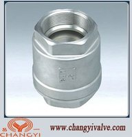 stainless steel vertical lift check valve