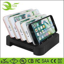 Multi Device Charging Docking Station Multiple 5 Port USB Stand Charger for iPhone tablets charger dock