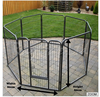 8 pieces easily assemble portable firm Dog Cages