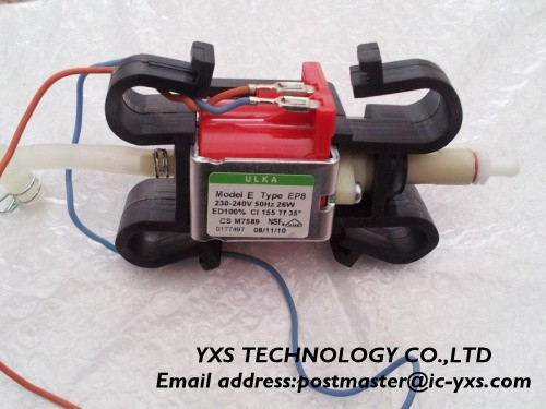 E8 2.5Bar 230-240V 50Hz 26w ULKA for coffee water pump EP8 Electromagnetic pump/self-priming pump