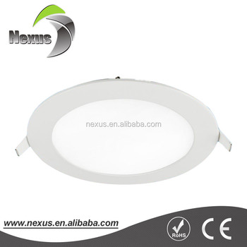 SMD 3014 12w led round panel 180mm with 3 years warranty