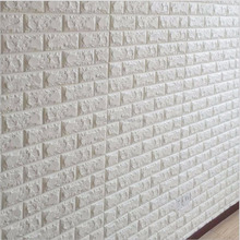 Stretchy collision avoidance Wallpaper Decoration 3D Brick PE Foam Wall Stickers