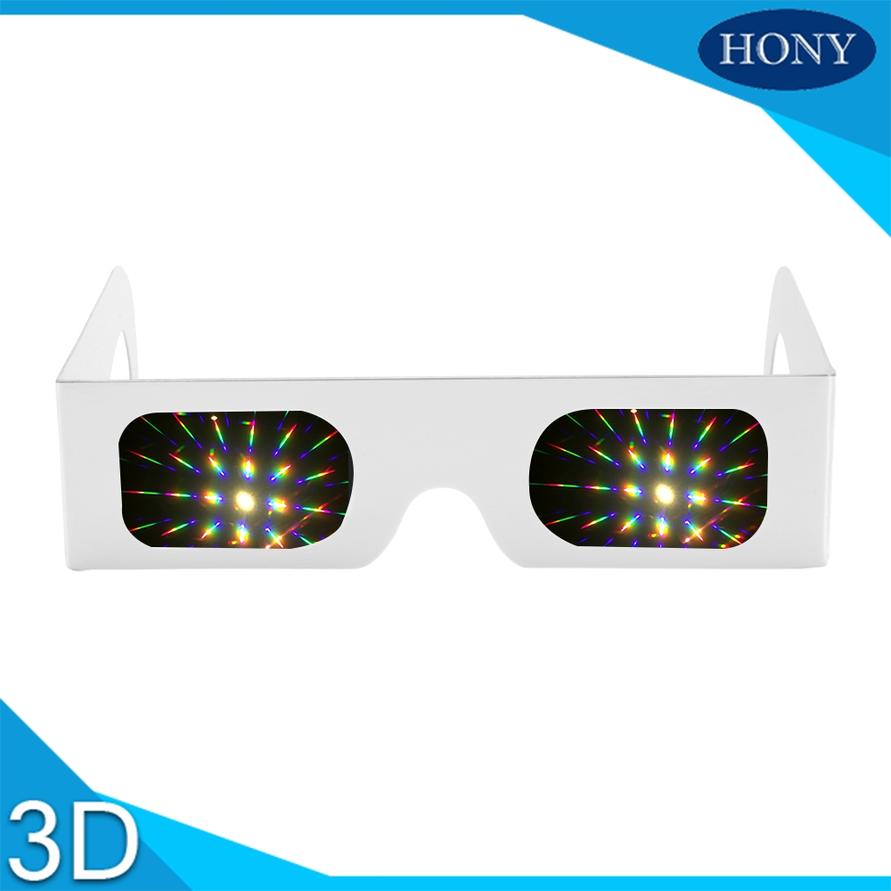 Promotional Diffraction Glasess with Paper Frame