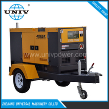 Nigeria 10kva diesel generator price 60hz with trailer for sale