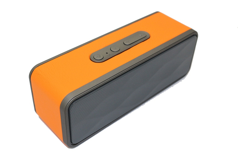 Leather Surface Bluetooth Wireless Speaker With Micro HIFI System