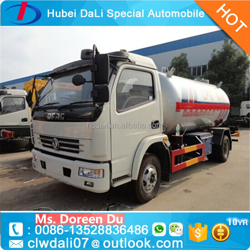 Dongfeng 4*2 2.3 Tons 5500 liters ammonia tanker trucks for sale