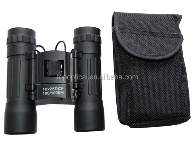 Promotion 10X25 cheap thermal rubber armoring binoculars