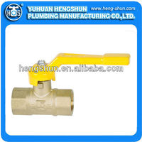 brass female triple seal gas ball valve