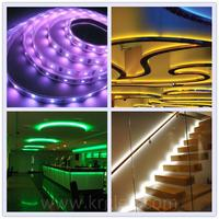 Outdoor decoration addressable rgb ws2801 string smallest led light strip