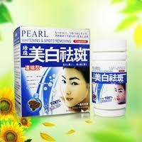 Whitening skin improve immunity beauty skin product Pearl whiteing spot removing capsule