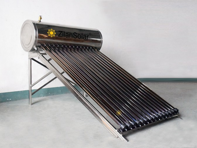 Heat Pipe Compact Pressurized Solar Water Heater include all accessories