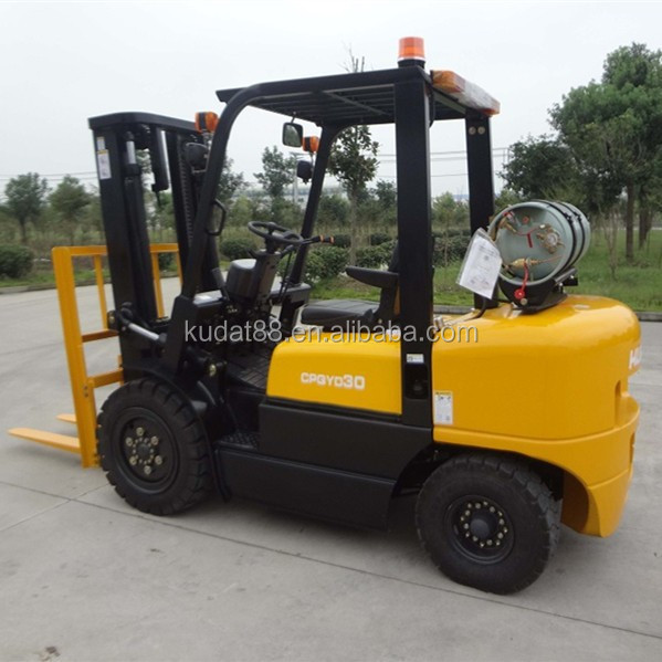 3 Tons Forklift LPG/Balance Weight Japan Gasoline Engine Forklift/Chinese LPG Montacarga(with CE)