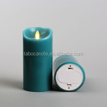 Lighting Products battery operated flickering flame candle/cemetery battery candle