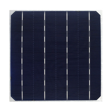 Glass A 156mm Monocrystalline Individual Solar Cell