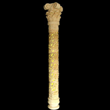 white marble roman column for sale