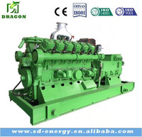 400KW Electric motor generator for coal gas fuel made in Shandong
