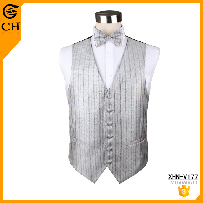 Chunhe design your own office striped work vest