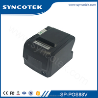 Compact 80mm Bluetooth POS Thermal Receipt Printer with Auto Cutter