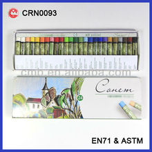 24 COLOR OIL PASTEL FOR KIDS