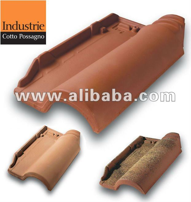 Te.Si roof tile terracotta