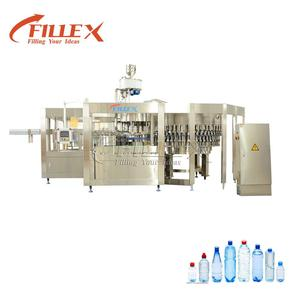 Fully automatic mineral water plant manufacturing/ plastic water bottle manufacturing plant