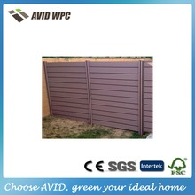 High Quality WPC wood plastic composite temporary low price WPC fencing