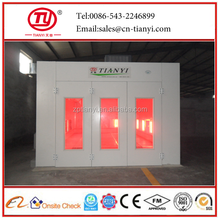 Tianyi high quality spray booth/burner for spray booth/car spray booth price
