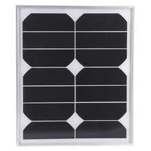 High efficiency Sunpower cell 18W 12V mini flexible solar panel
