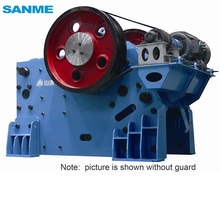 Chinese Supplier Protective planch of movable plate manual jaw crusher