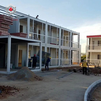 China made 40 ft container house with modified container houses for rent