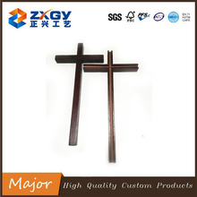 FSC Factory Decorative Natural Small Wooden Cross For Church