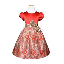 New Spring Autumn Clothing Party Dress For Children Kids Flower Ball Gown Dress