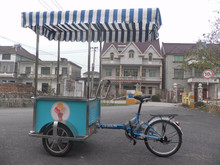 JX-FB160 Newly Design outdoor Mobile Cheap Mobile popsicle ice cream cart