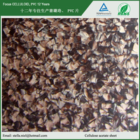 cellulose acetate tortoise sheet and cellulose acetate tortoise and acetate sheet for glasses