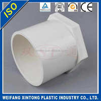 Shandong manufactory Best-Selling pvc pipe fitting plastic pipe end cap