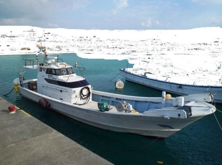 12.45m Japan used fishing vessel