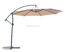 Fullsun Parasol SY8070 9ft-11.6ft banana hanging umbrella and outdoor banana Patio umbrella