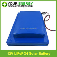 solar light posts outdoor with BMS good protection 12v 35ah litium battery 12v