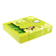 Wholesale slide cardboard gift packaging box customized tea box size storage box for tea
