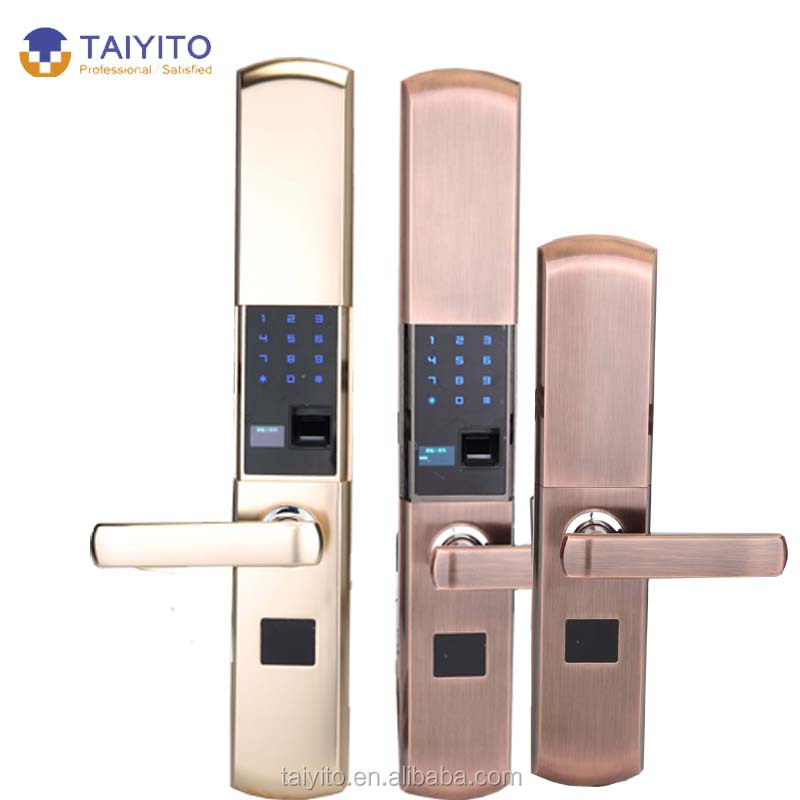 Tyt Double Sided Fingerprint Door Lock For Apartments   Buy Double Sided  Fingerprint Door Lock,Sliding Door Locks,One Side Door Lock Product On  Alibaba.com